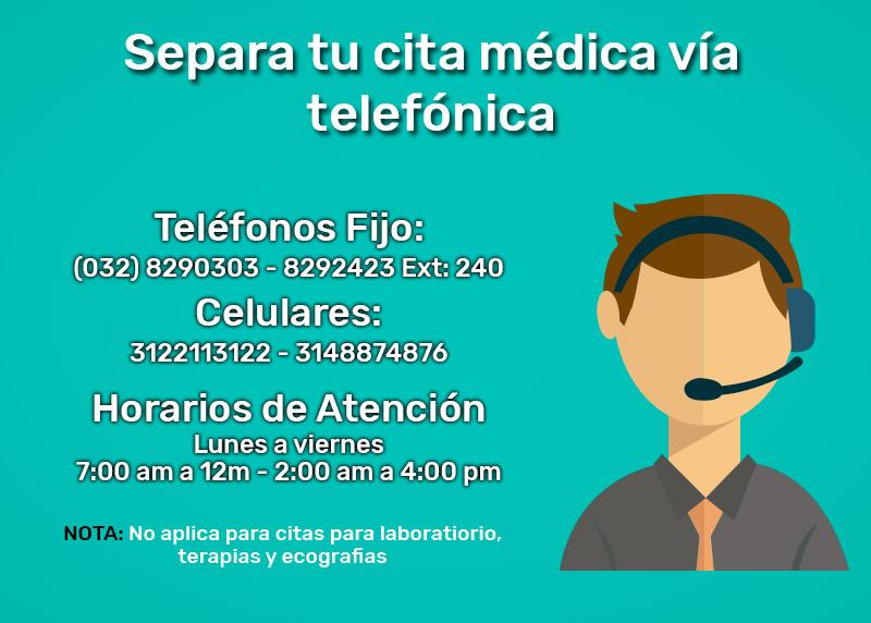 Cita Médica Telefónica Hospital Francisco Paula Santander