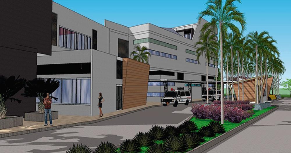 Proyecto Hospital Regional Francisco de Paula Santander nivel 2