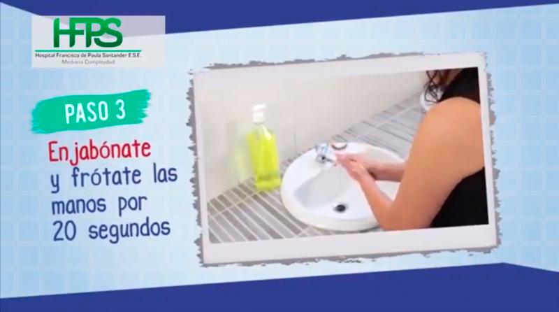 Estrategia de lavado de manos – Manos limpias, salvan vidas.