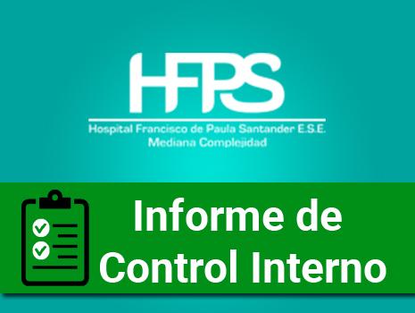 Informe control interno de septiembre a diciembre del 2017