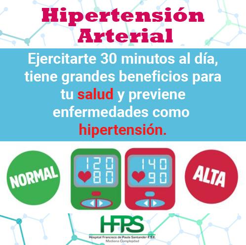 hipertensión arterial hospital francisco de paula santander