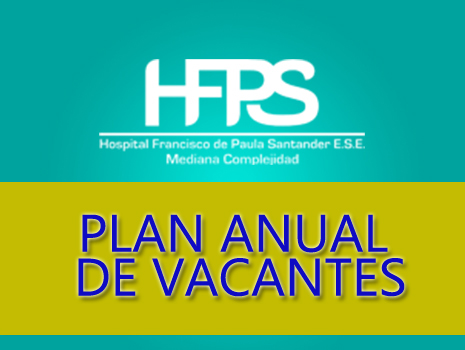 PLAN ANUAL DE VACANTES 2020