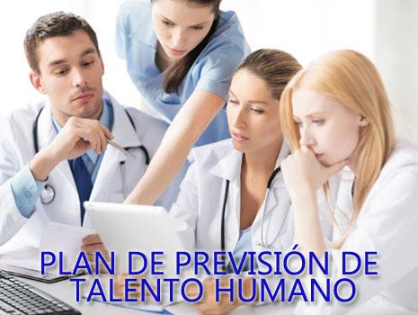 PLAN DE PREVISION DE  TALENTO HUMANO 2019