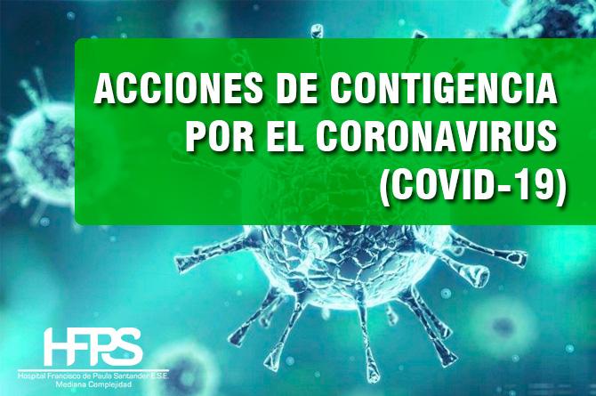 ATENCIÓN DE POSIBLES CASOS DE INFECCIÓN COVID-19