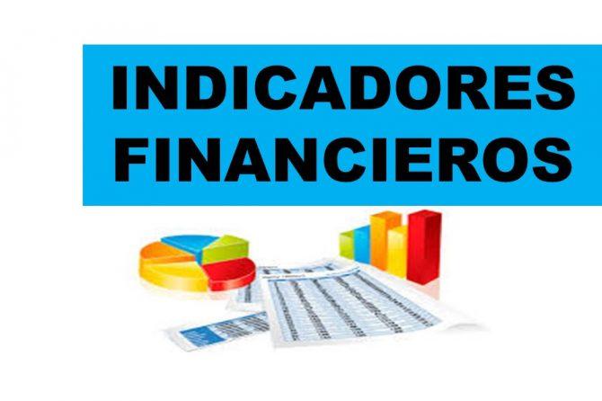 INDICADORES FINANCIEROS MARZO 2020